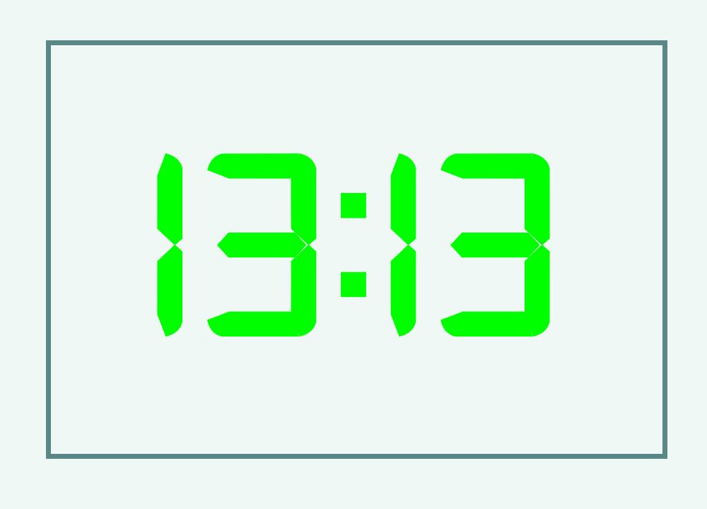 13:13