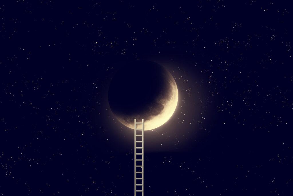 Noční měsíc