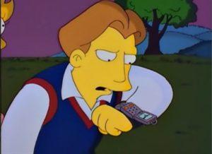 Simpsonovi - chytré hodinky