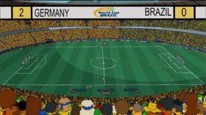 Simpsonovi - Německo vs Brazílie