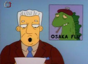 Simpsonovi - chřipka